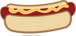 Picnic clipart hot dog