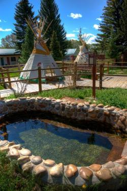 Hot Springs clipart wyoming
