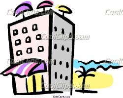 Inn clipart beach hotel