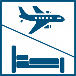 Hotel clipart airplane