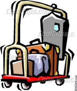Hotel clipart cart