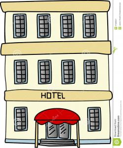 Hotel clipart cartoon