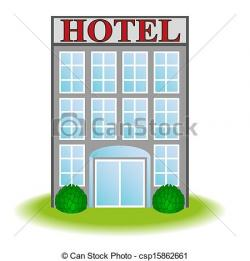 Hotel clipart graphic