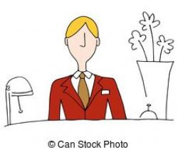 Hotel clipart hotel manager