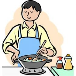 Kitchen clipart home cooked meal