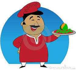 Hotel clipart indian cook