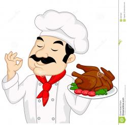 Plate clipart chef