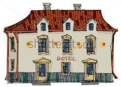 Hotel clipart old