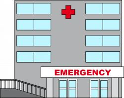Bulding  clipart hospital building