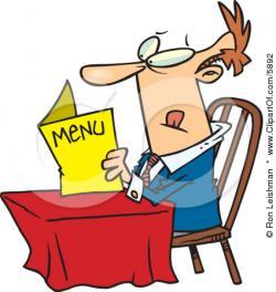 Restaurant clipart restaurant customer