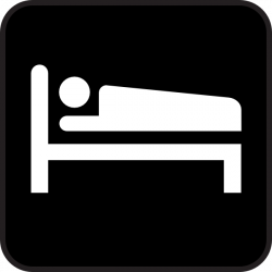 Hotel clipart sleep