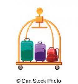 Hotel clipart trolley