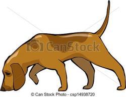 Bloodhound clipart hound dog