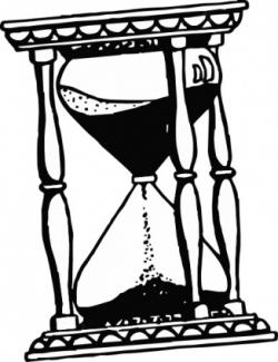 Hourglass clipart computer