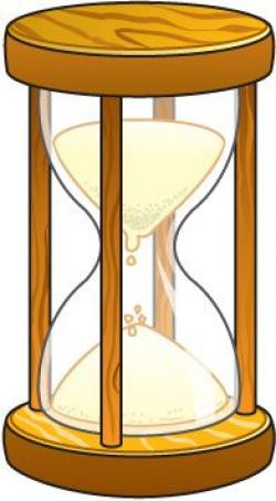 Hourglass clipart cute
