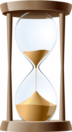 Hourglass clipart sand clock