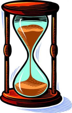 Hourglass clipart sand timer