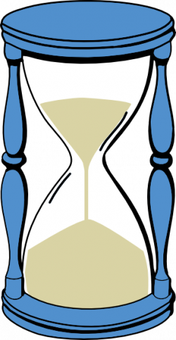 Hourglass clipart time capsule