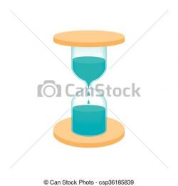 Hourglass clipart water