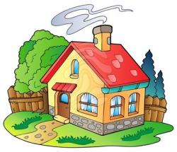 Village clipart cottage