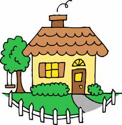 Old House clipart cute cottage