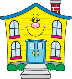 Mansion clipart colorful