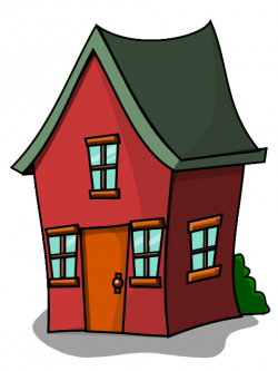 Haunted House clipart bungalow