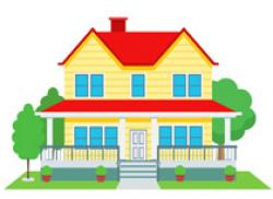 Dreaming clipart home building
