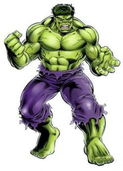 Hulk clipart body