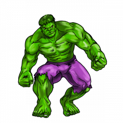 Hulk clipart cartoon