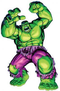 Hulk clipart comic book