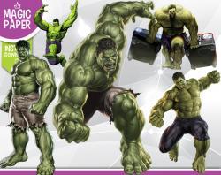 Hulk clipart digital