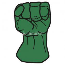 Hulk clipart fist