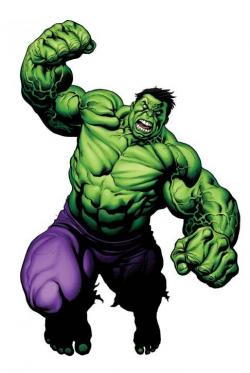 Hulk clipart friendly