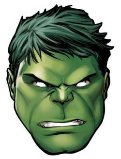 Hulk clipart head