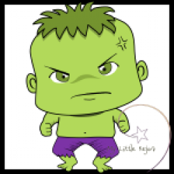 Hulk clipart little