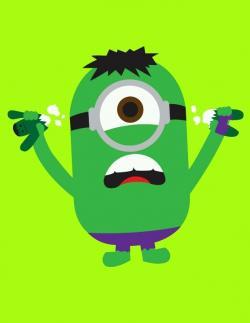 Hulk clipart minion