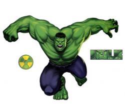 Hulk clipart simple