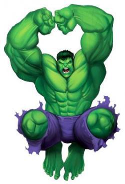 Hulk clipart superhero