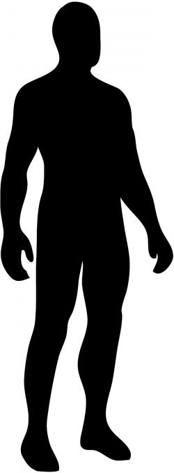 Unknown clipart man shadow