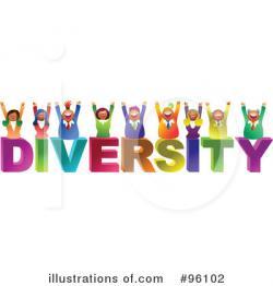 Human clipart diversity