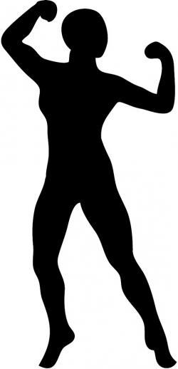Shaow clipart female body