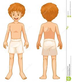 Rear clipart child body