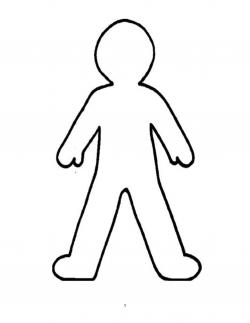 Human clipart human outline