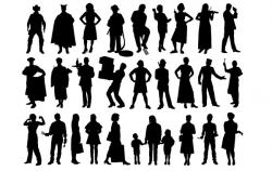 Shaow clipart human shadow