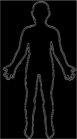 Shoulder clipart outline