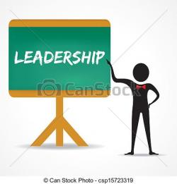 Illustration clipart leadership