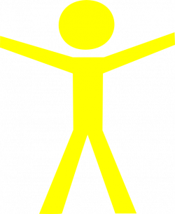 Human clipart yellow