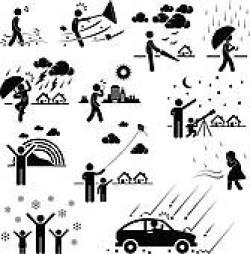 Atmosphere clipart black and white