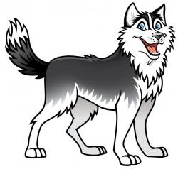 Siberian Husky clipart